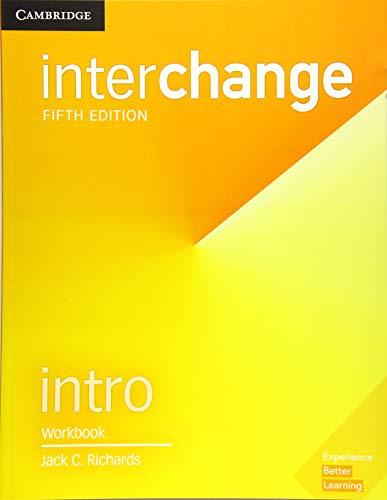 9781316622377: Interchange. Level Intro . Workbook