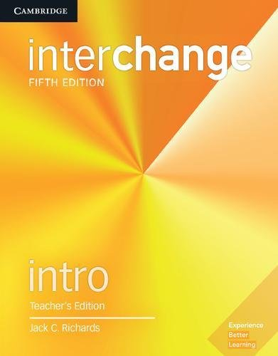 9781316622414: Interchange. Level Intro . Teacher's Edition with Complete Assessment