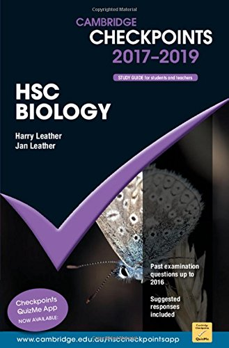 Cambridge Checkpoints HSC Biology 2017-19 (Paperback): Harry Leather