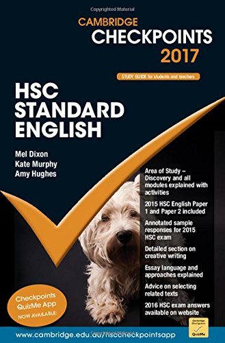 Cambridge Checkpoints HSC Standard English 2017: Mel Dixon
