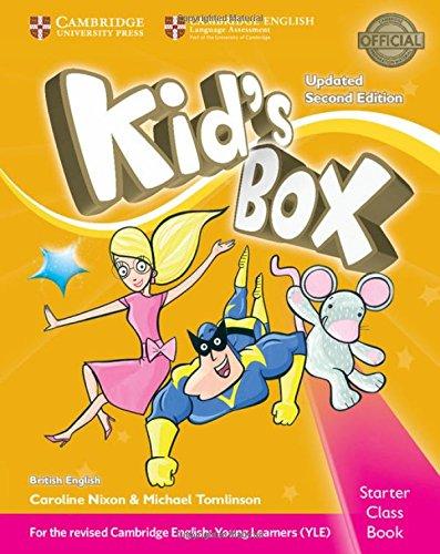 9781316627655: Kid's box. Level Starter. Class book. British English. Per la Scuola elementare. Con CD-ROM