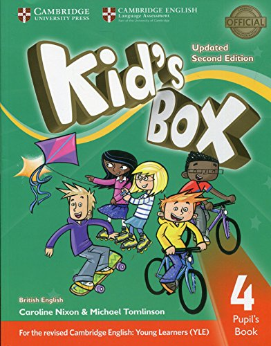9781316627693: Kid's Box Level 4 Pupil's Book British English [Lingua inglese]