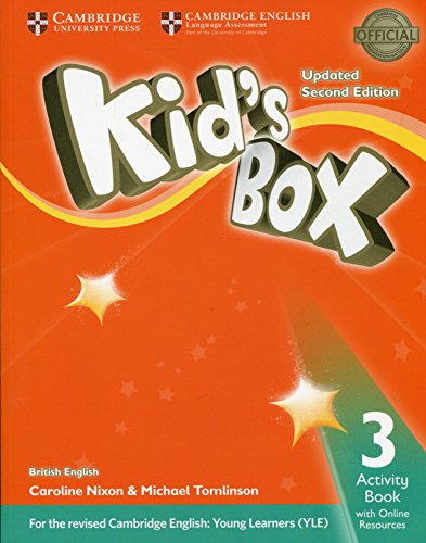 9781316628768: Kid's Box Level 3 Activity Book with Online Resources British English [Lingua inglese]
