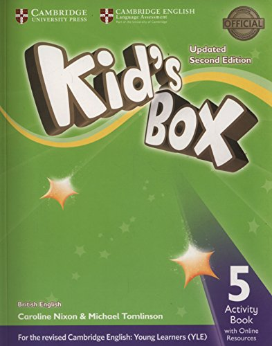 9781316628782: Kid's Box Level 5 Activity Book with Online Resources British English