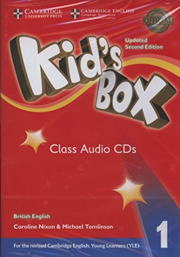 Kid's Box Level 1 Class Audio CDs: Nixon, Caroline, Tomlinson,
