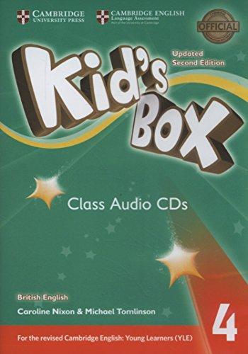 Kid's Box Level 4 Class Audio CDs: Nixon, Caroline, Tomlinson,