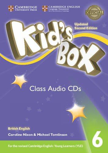 Kid's Box Level 6 Class Audio CDs: Nixon, Caroline, Tomlinson,