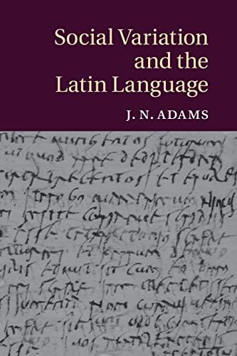 9781316629499: Social Variation and the Latin Language