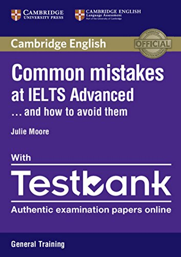9781316629536: Common Mistakes at IELTS Advanced Paperback with IELTS General Training Testbank