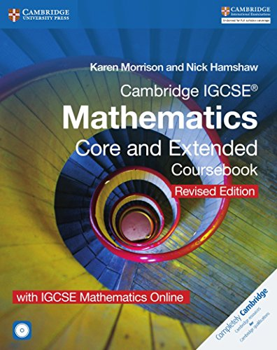 Cambridge IGCSE (R) Mathematics Core and Extended: Karen Morrison, Nick