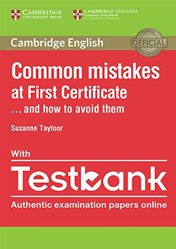 9781316630129: Common Mistakes at First Certificate... and How to Avoid Them Paperback with Testbank