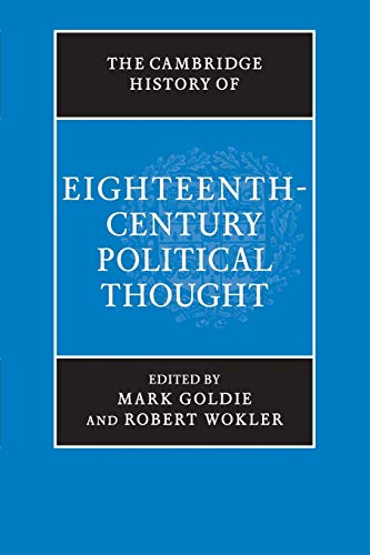9781316630280: The Cambridge History of Eighteenth-Century Political Thought (The Cambridge History of Political Thought)