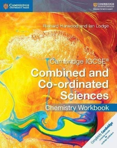9781316631058: Cambridge IGCSE® Combined and Co-ordinated Sciences Chemistry Workbook [Lingua inglese]