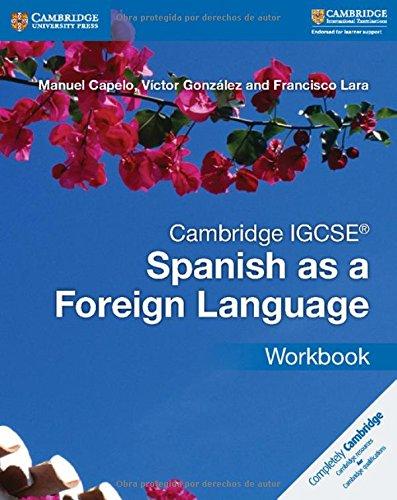 9781316635544: Cambridge IGCSE® Spanish as a Foreign Language Workbook [Lingua spagnola]