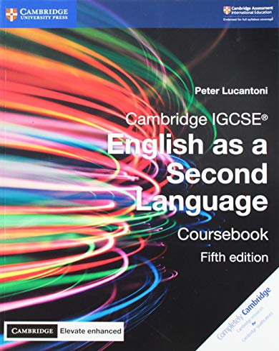 9781316636527: Cambridge IGCSE English as a second language. Coursebook. Con Cambridge elevate. Per le Scuole superiori. Con e-book. Con espansione online [Lingua inglese]