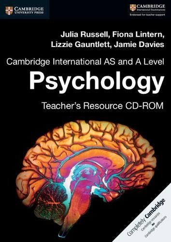 9781316637944: Cambridge International AS and A Level Psychology Teacher's Resource CD-ROM
