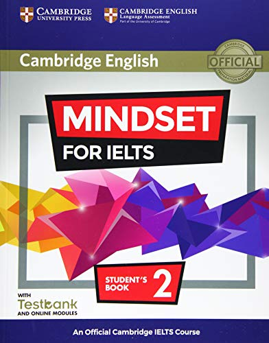 9781316640159: Mindset for IELTS. An Official Cambridge IELTS Course. Student's Book with Online Modules and Testbank (Level 2)