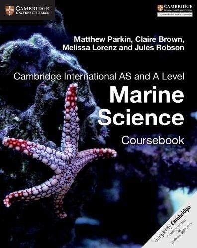 9781316640869: Cambridge International AS and A Level Marine Science Coursebook