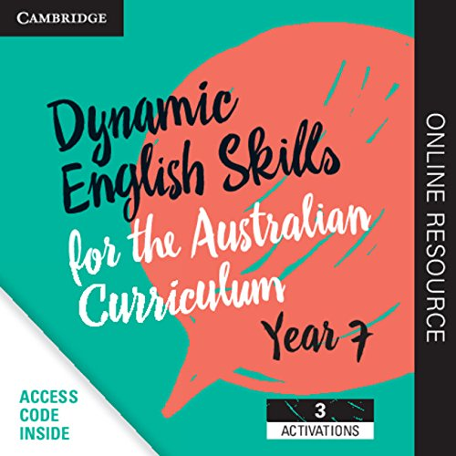 Dynamic English Skills for the Australian Curriculum Year 7 3 year subscription: A multi-level ...