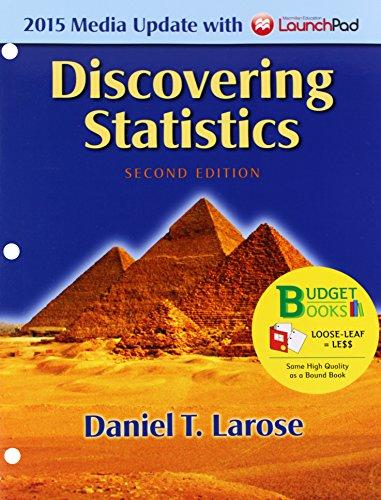 9781319005450: Loose-leaf Version for Discovering Statistics Media Update