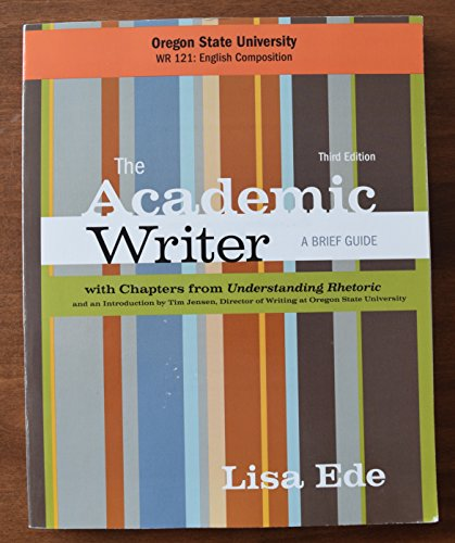 9781319006563: The Academic Writer, A Brief Guide, Third Edition