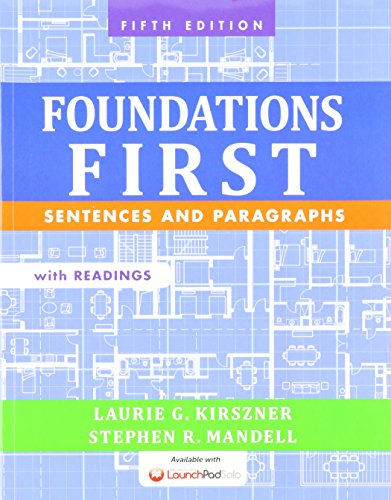 9781319007720: Foundations First with Readings 5e & LaunchPad Solo for Foundations First with Readings (Six Month Access)