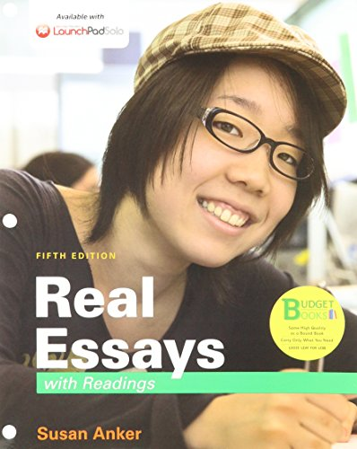 real essays with readings anker edition 4