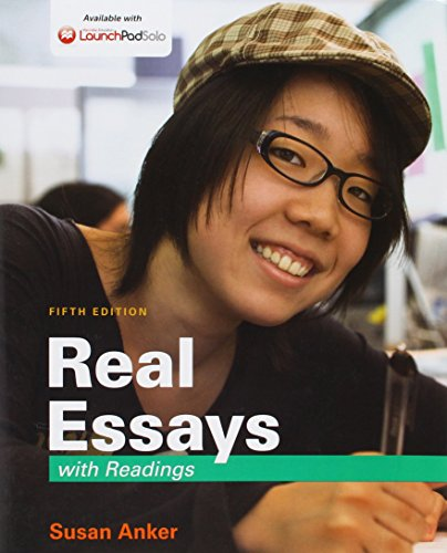 9781319007768: Real Essays with Readings 5e & LaunchPad Solo for Real Essays with Readings 5e (Six Month Access)