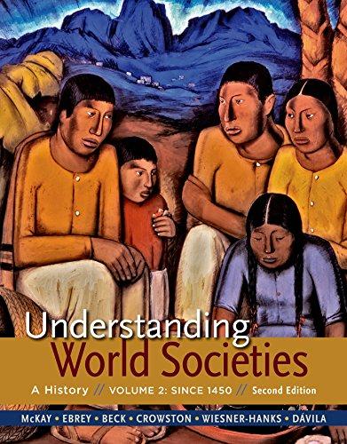 9781319008383: Understanding World Societies, Volume 2: Since 1450
