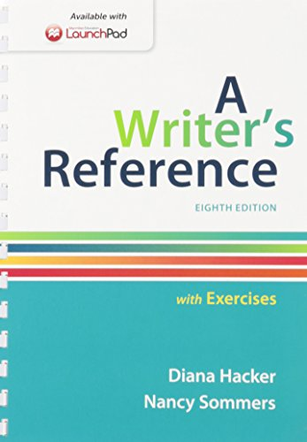 9781319009175: Writer's Reference with Exercises 8e & LaunchPad for A Writer's Reference (One Year Access)
