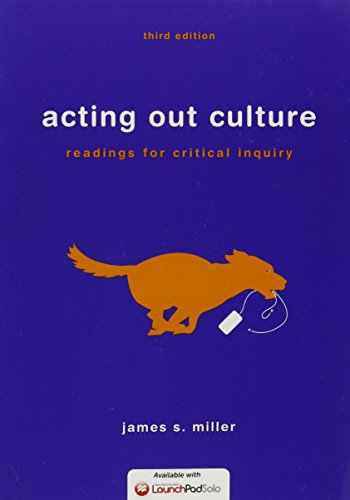 9781319010522: Acting Out Culture 3e & LaunchPad Solo for Acting Out Culture 3e (Six Month Access)