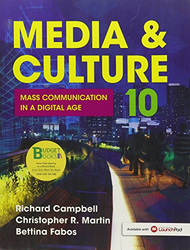 9781319010553: Loose-Leaf Version for Media & Culture: An Introduction to Mass Communication