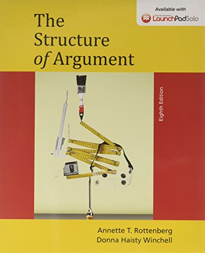 9781319010775: The Structure of Argument 8e & LaunchPad Solo for Elements of Argument 11e and Strucutre of Arugment 8e (Six Month Access)