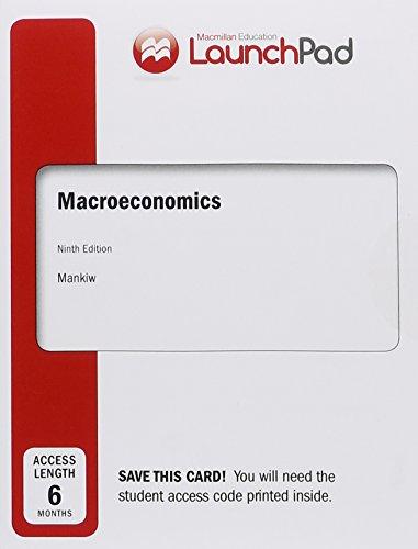 9781319010935: LaunchPad for Mankiw's Macroeconomics (Six Month Access)