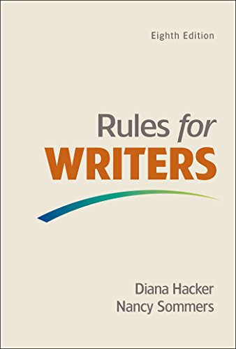 9781319011314: Rules for Writers with Writing about Literature (Tabbed Version)