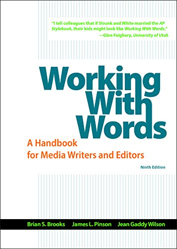9781319011741: Working with Words: A Handbook for Media Writers and Editors