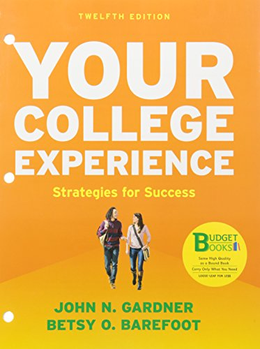 9781319012519: Loose-Leaf Version for Your College Experience: Strategies for Success