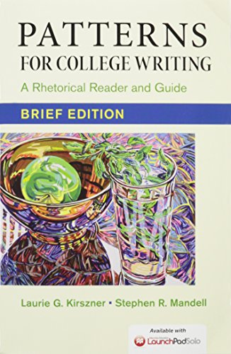 9781319013134: Patterns for College Writing, Brief Edition 13e & Launchpad Solo for Patterns for College Writing 13e (Six Month Access)