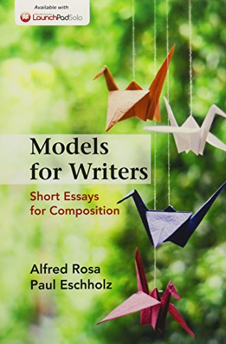 9781319013813: Models for Writers 12e & LaunchPad Solo for Models for Writers 12e (Six Month Access)