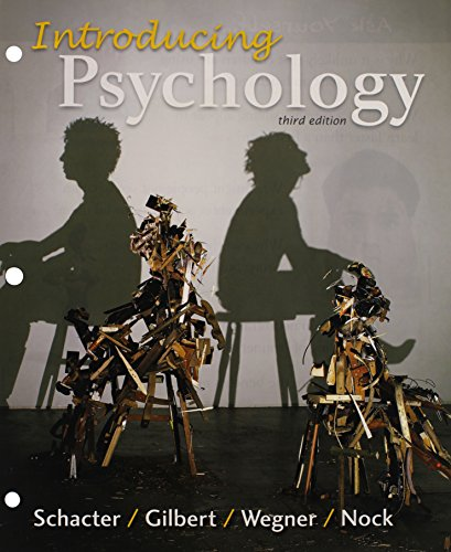 9781319014896: Loose-leaf Version for Introducing Psychology 3e & LaunchPad for Schacter's Introducing Psychology 3e (Six Month Access)