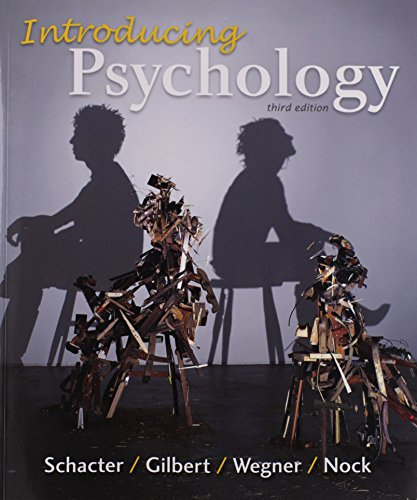 psychology schacter gilbert wegner 3rd edition pdf