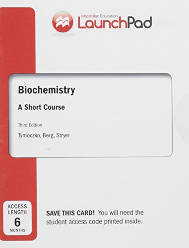 9781319015602: LaunchPad for Tymoczko's Biochemistry: A Short Course (Six Month Access)