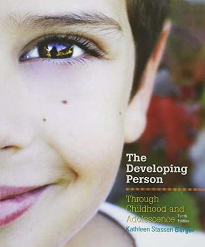 9781319016975: Developing Person Through Childhood and Adolescence 10 P & LaunchPad for Berger's Developing Person through Childhood and Adolescence 10e (Six Month Access)