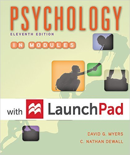 9781319017040: Bundle: Loose-leaf Version for Psychology in Modules 11e & LaunchPad for Myers' Psychology in Modules 11e (Six Month Access)