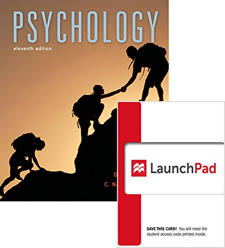 9781319017057: Bundle: Psychology 11e & LaunchPad (Six Month Access)