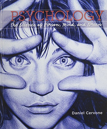 9781319017071: Psychology: The Science of Person, Mind, and Brain & Launchpad (Six Month Access)