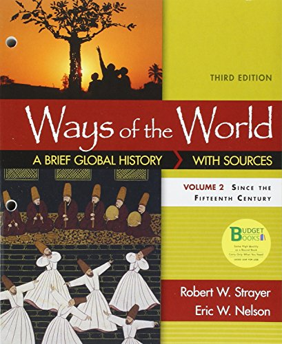 9781319018450: Loose-leaf Version for Ways of the World: A Brief Global History with Sources, Volume II