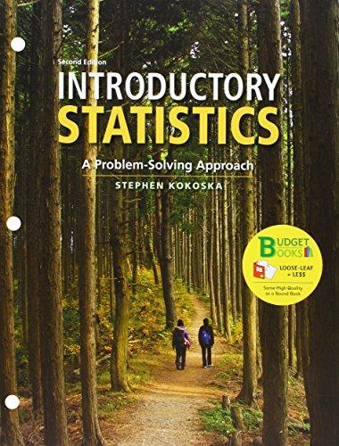 Loose-leaf Version for Introductory Statistics 2e &: Stephen Kokoska