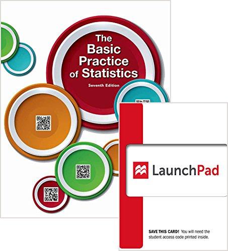 9781319019341: Bundle: Basic Practice of Statistics 7e & LaunchPad (Twelve Month Access)