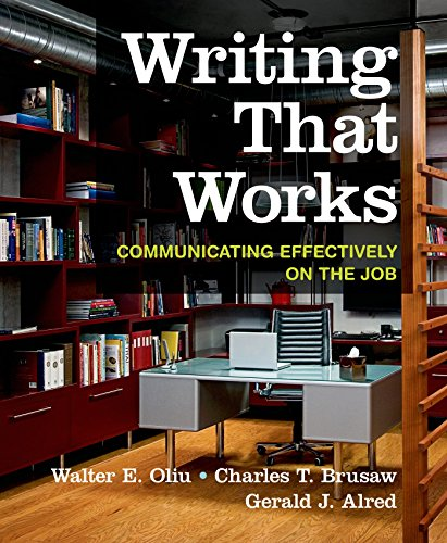 9781319019488: Writing That Works: Communicating Effectively on the Job